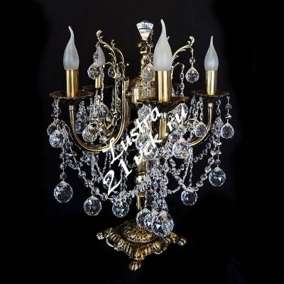 Настольная лампа Бронза 3 - 5 ламп Шары