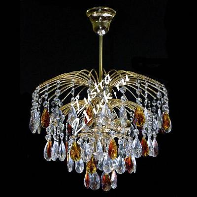 Брызги 3 лампы Журавлик Цветной
