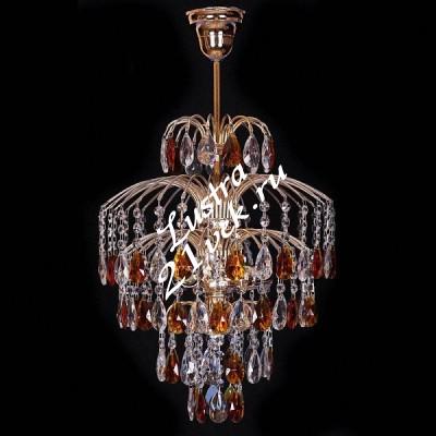 Брызги 3 лампы Журавлик Цветной с макушкой