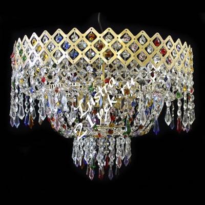 Корона 5 ламп Цветная