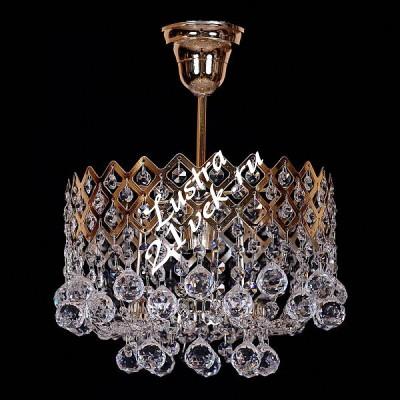 Корона 1 лампа Шары
