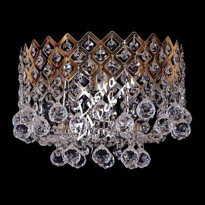 Корона 1 лампа №1 Шары с зеркалом