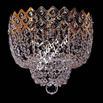 Корона 1 лампа №2 с зеркалом (арт 419)