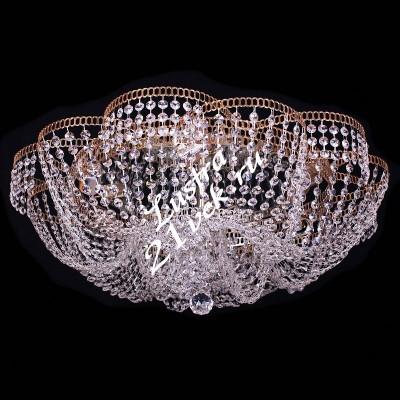 Лотос Пион 4- 6 ламп с зеркалом