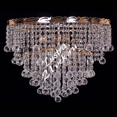 Капель № 1 Конус- Шары 5 ламп с зеркалом
